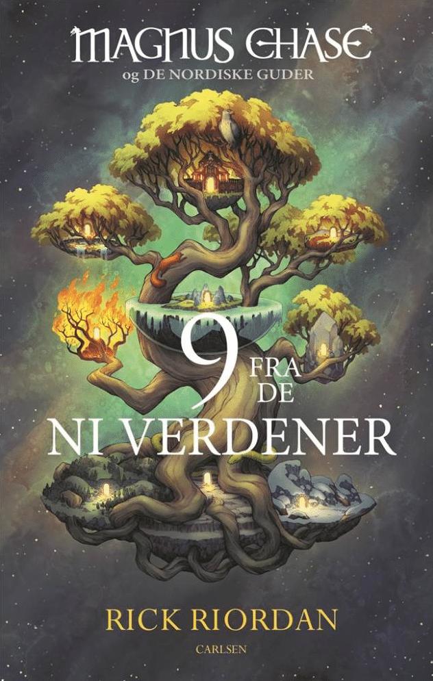 9 fra de ni verdener, Magnus Chase, Rick Riordan, fantasy, fantasyroman, fantasy-roman, nordiske guder, nordisk mytologi