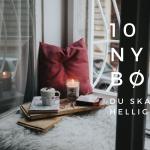 10 nye bøger du skal læse i helligdagene