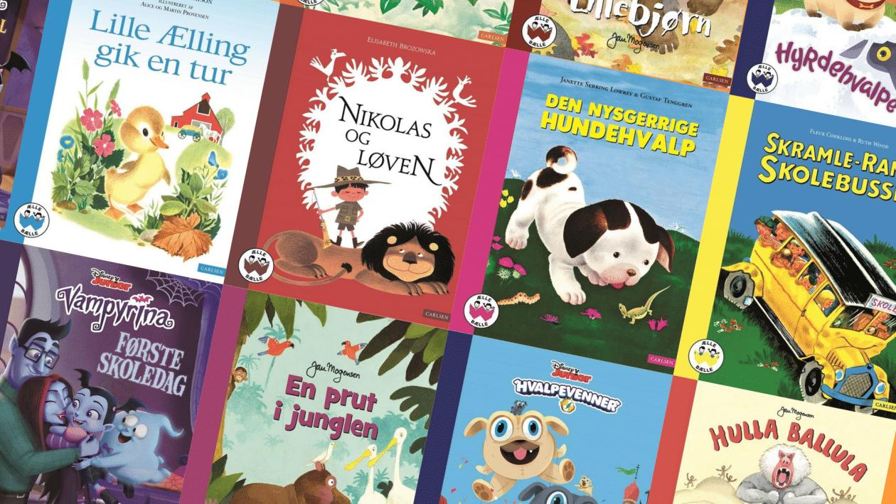 Ælle bælle, alle bælle-bøgerne, børnebog, børnebøger, carlsen
