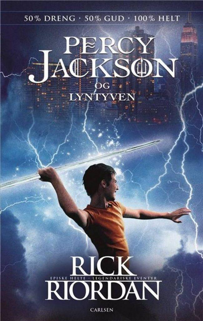 Percy Jackson, Rick Riordan, Percy Jackson og lyntyven, fantasy, børnebog,