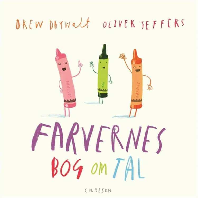 Farvernes bog om tal, Oliver Jeffers, Drew Daywalt, billedbog, billedbøger