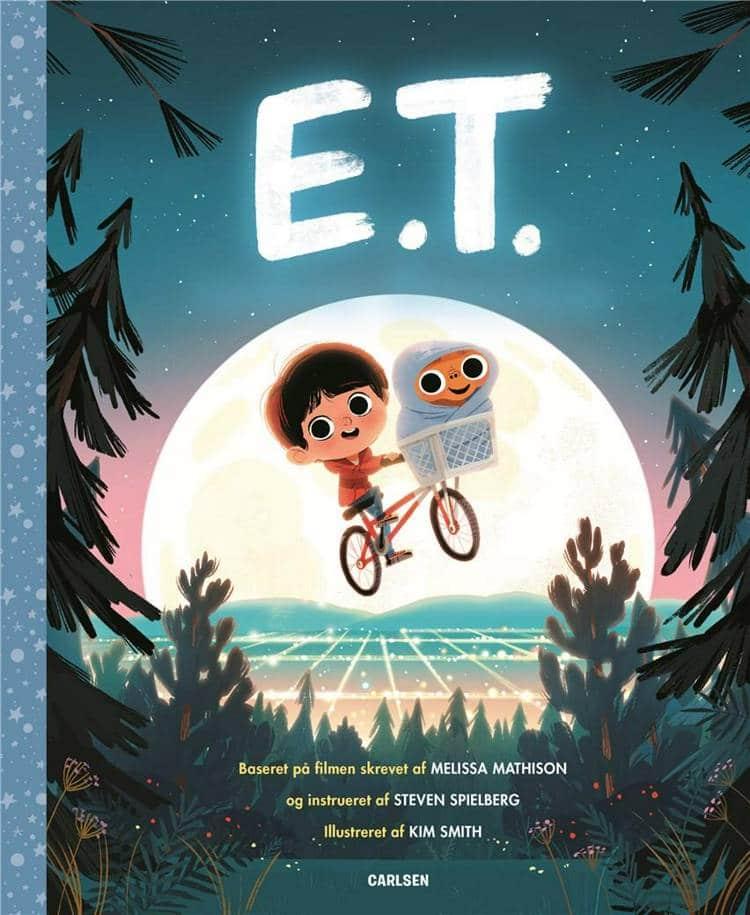 E.T., Carlsens filmklassikere, Steven Spielberg, filmbog, billedbog, billedbøger