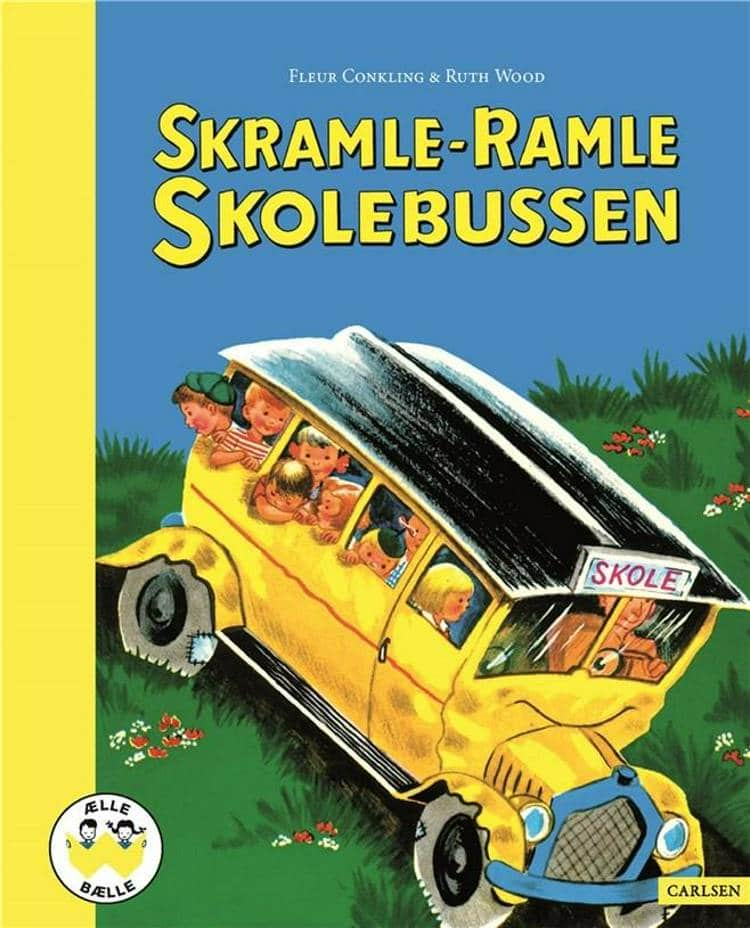 Skramle-ramle skolebussen, ælle bælle, nostalgi, klassiske børnebøger