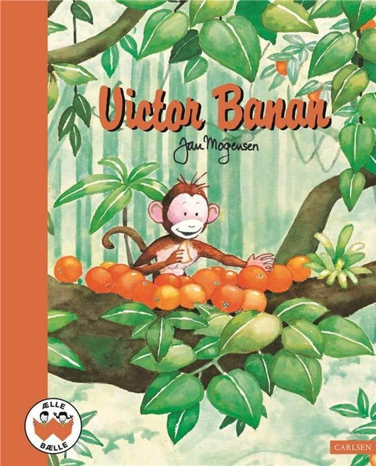 ælle bælle, nostalgi, klassiske børnebøger, Victor banan, Jan mogensen