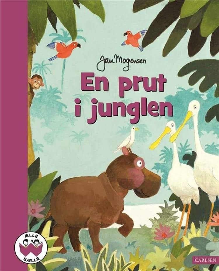 ælle bælle, nostalgi, klassiske børnebøger, Jan mogensen, En prut i junglen