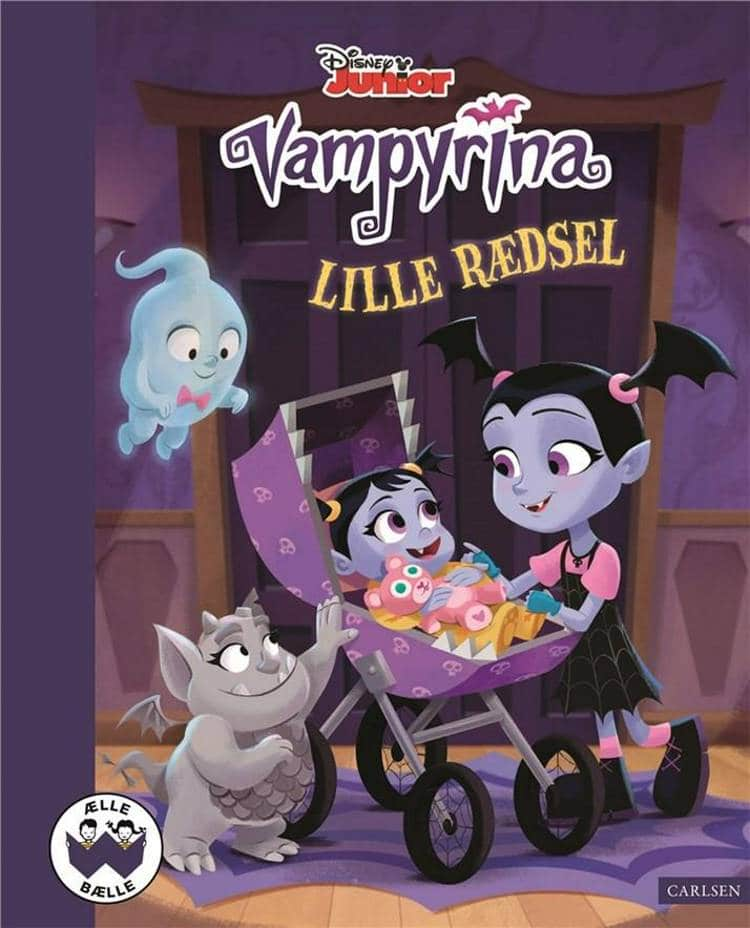 nostalgi, klassiske børnebøger, disney jr., disney junior, vampyrina, lille rædsel