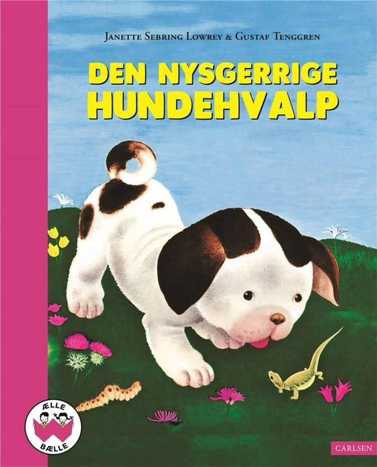 ælle bælle, nostalgi, klassiske børnebøger, den nysgerrige hundehvalp