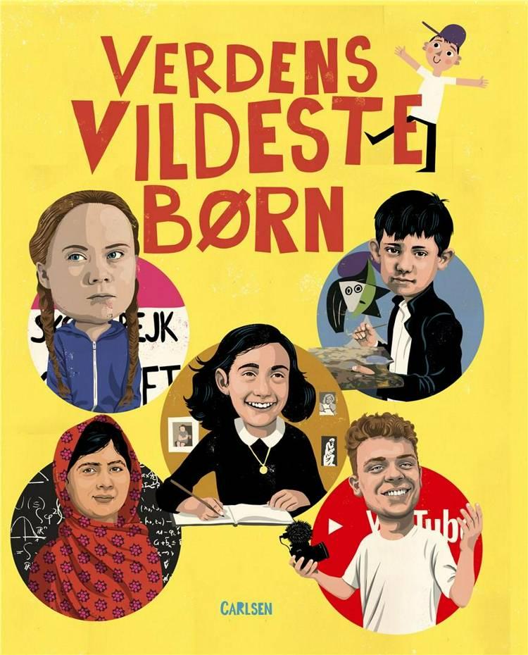 Verdens vildeste børn, David Pepe Birch, børnebog, børnebøger, seje børn, vilde børn