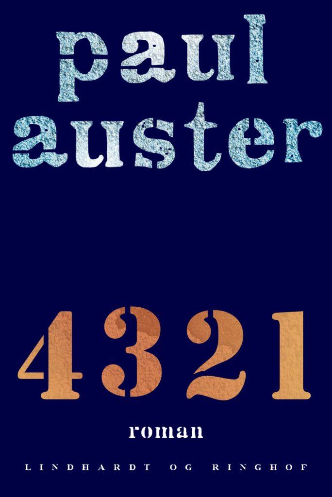 Bøger på over 500 sider: 4321 af Paul Auster