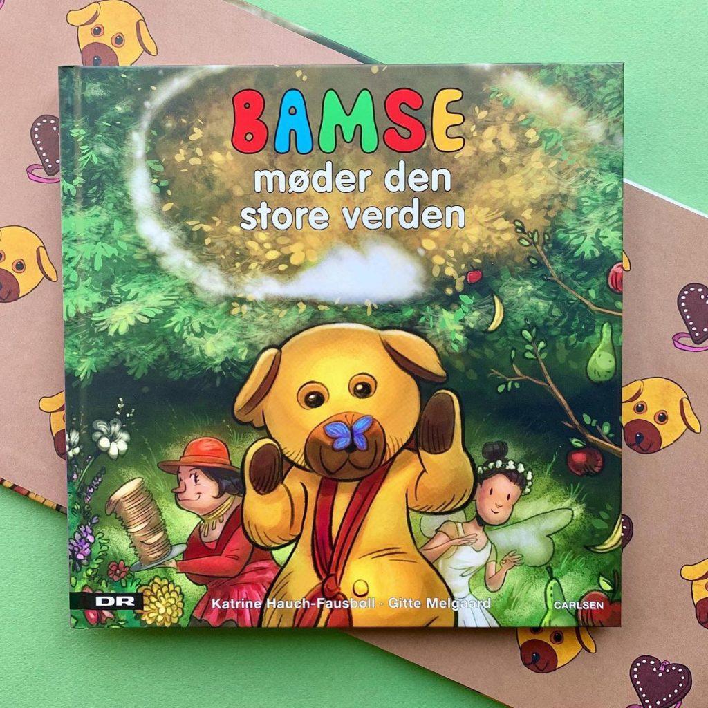 Bamse møder den store verden, Bamses billedbog, bamse og kylling, ælling, Luna, Katrine Hauch-Fausbøll
