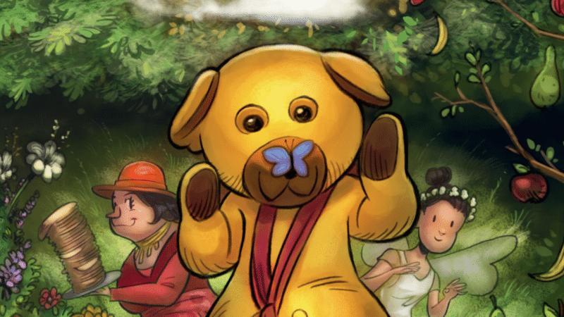 Bamse møder den store verden, bamse, bamses, bamse og kylling, bamses billedbog, Katrine Hauch-Faousbøll, børnebog, børnebøger, kylling, ælling