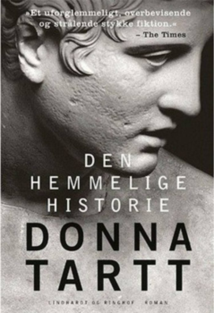 Den hemmelige historie, Donna Tartt, amerikansk roman, amerikanske romaner,