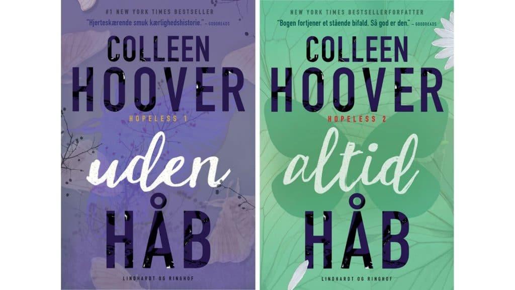 Kærlighedsbøger: Uden håb og Altid håb af Colleen Hoover
