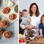 Grøn mad til hele familien: Lækre veggie pizzasnegle
