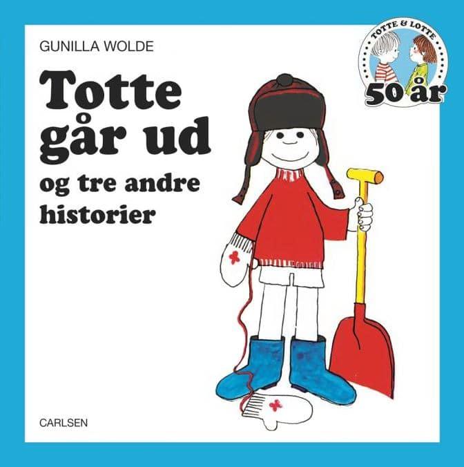 Totte går ud, Lotte og Totte, Totte, Gunilla Wolde, billedbog, billedbøger