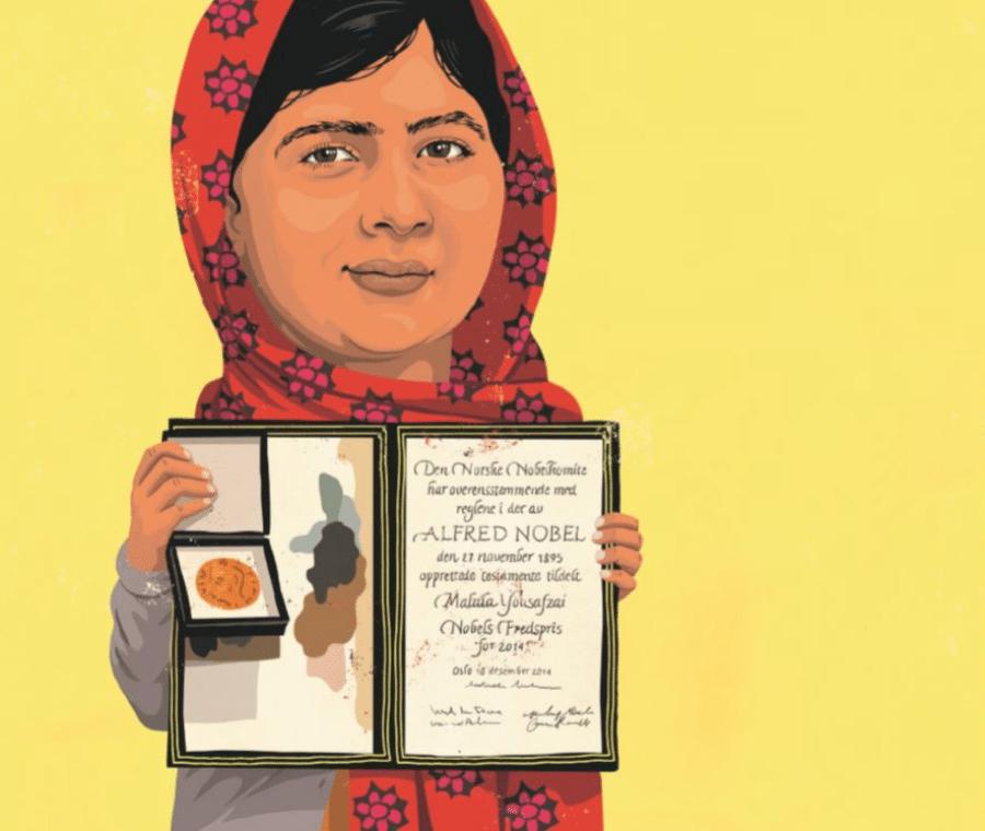 Verdens vildeste børn, Malala Yousafzai, børnebog, børnebøger, David Pepe Birch