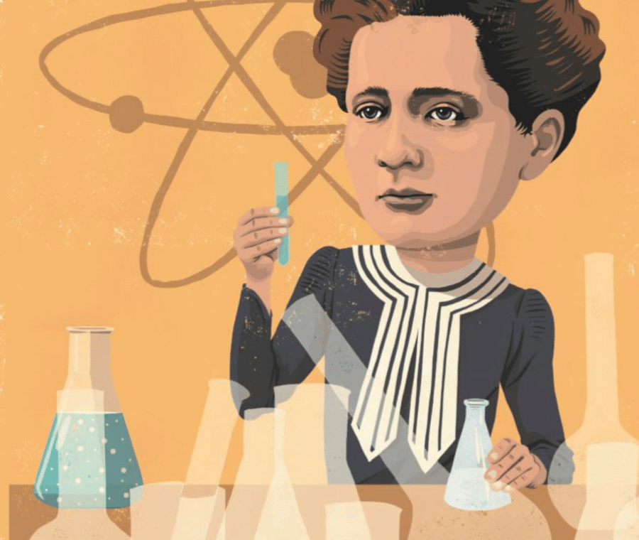 Verdens vildeste børn, David Pepe Birch, Marie Curie