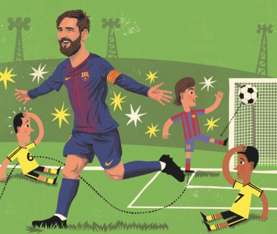 Verdens vildeste børn, David Pepe Birch, Lionel Messi, børnebog