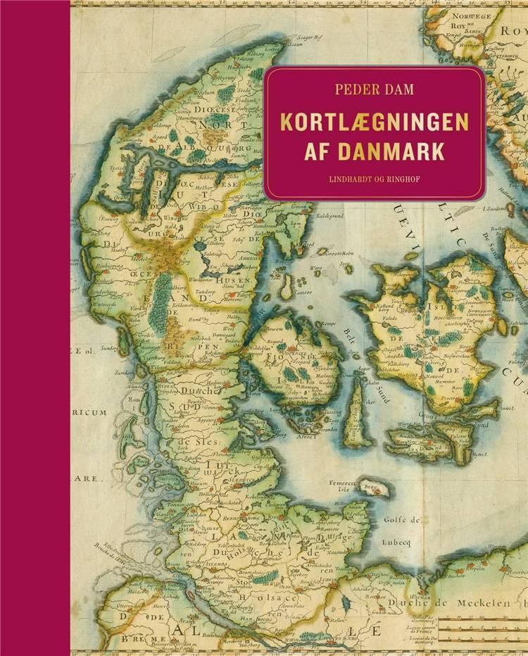 Kortlægningen af Danmark, Peder Dam, kortlægning, kartografi, kort, danmarkskort, danske byer, danske byers udvikling, byudvikling