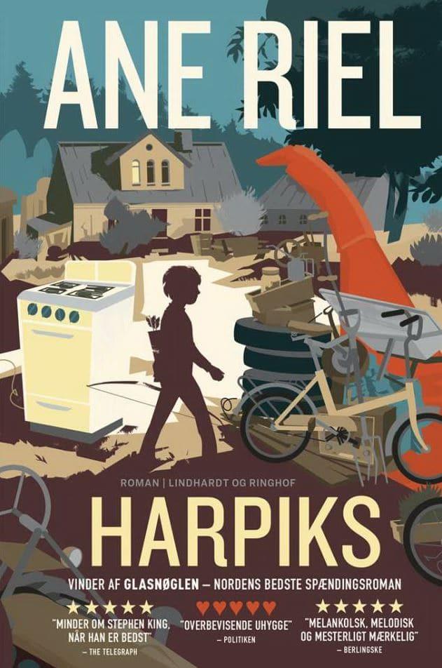 Harpiks, Ane Riel, spændingsroman, dansk skønlitteratur, dansk roman