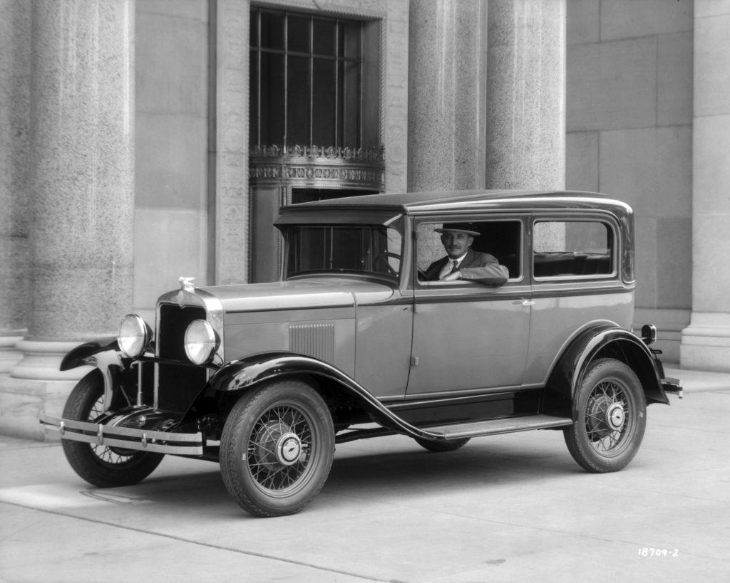 Knudsen i Chevrolet fra 1920'erne
