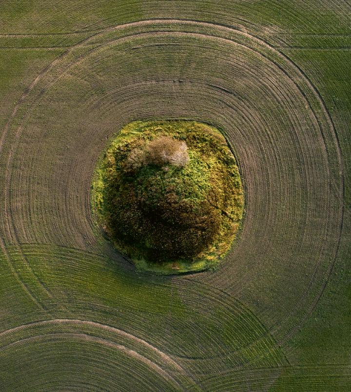 Danmarks oldtid i landskabet