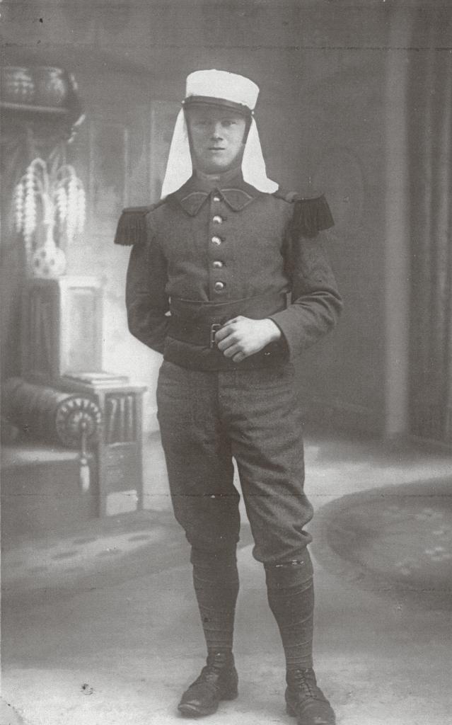 Sindberg i Fremmedlegionen.