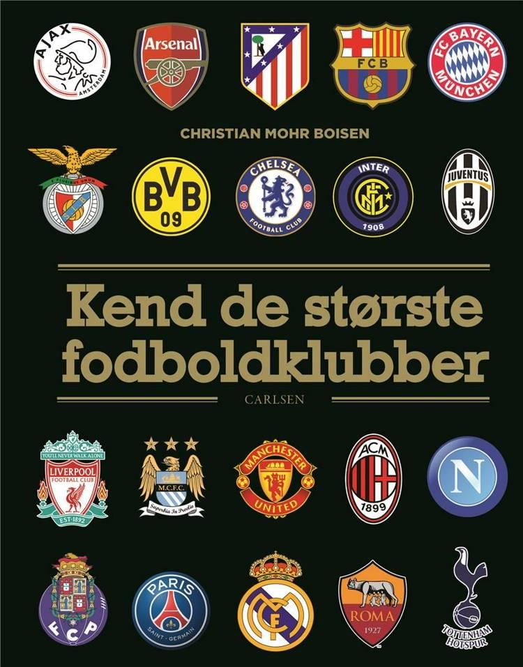 Kend de største fodboldklubber, fagbøger til børn