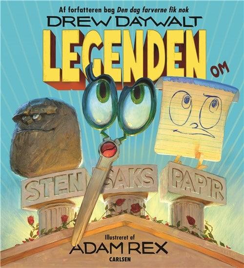 Legenden om sten, saks, papir, højtlæsning for børn