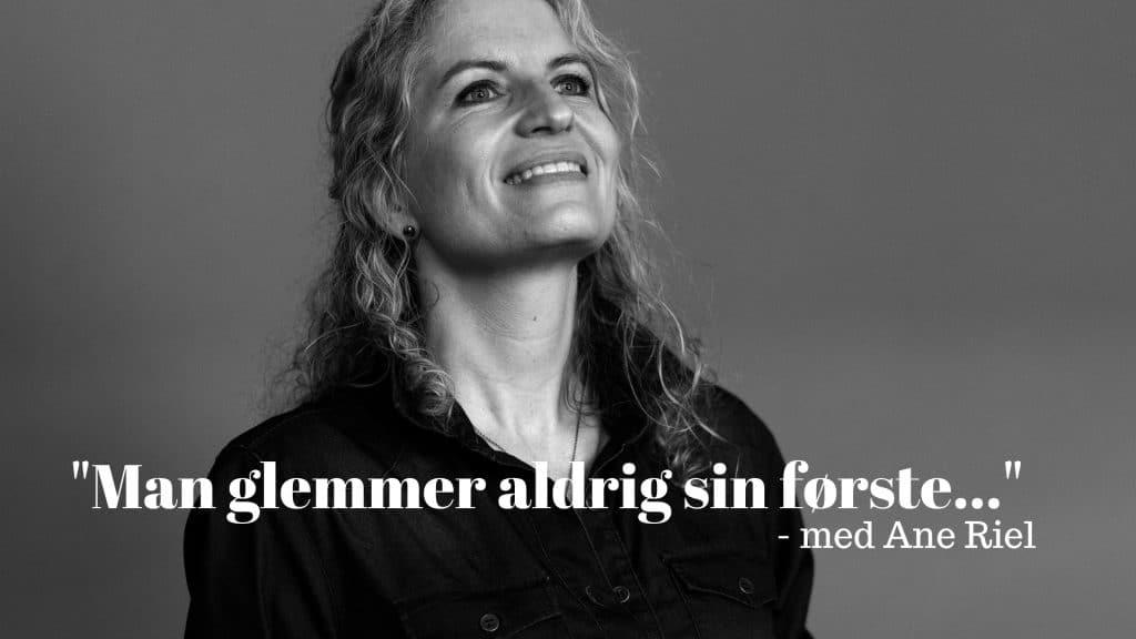 Ane Riel, Debut, Debutroman, Slagteren i Liseleje, Man glemmer aldrig sin første