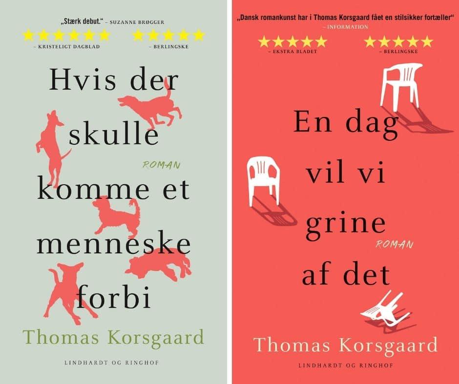 Thomas Korsgaard, En dag vil vi grine af det, Hvis der skulle komme et menneske forbi, Tyverier, Noveller, Novellesamling
