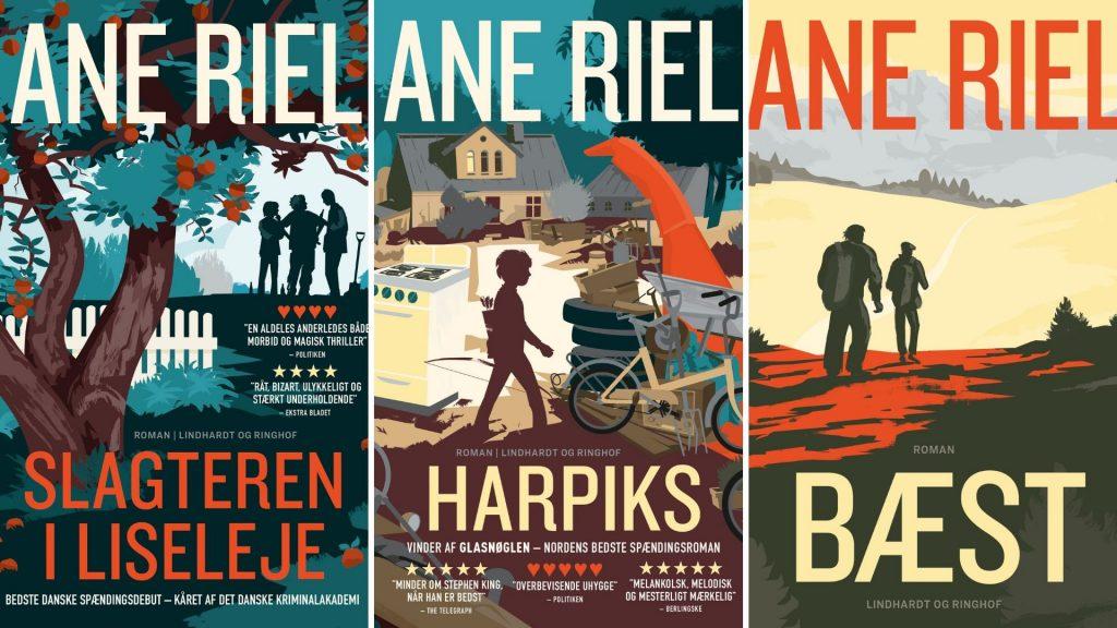 Ane Riel, Debut, Debutroman, Slagteren i Liseleje, Man glemmer aldrig sin første, Harpiks, Bæst