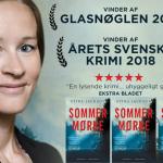 Vinder af Glasnøglen 2019: Sommermørke er årets bedste skandinaviske krimi