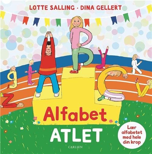 Alfabet-atlet af Lotte Salling