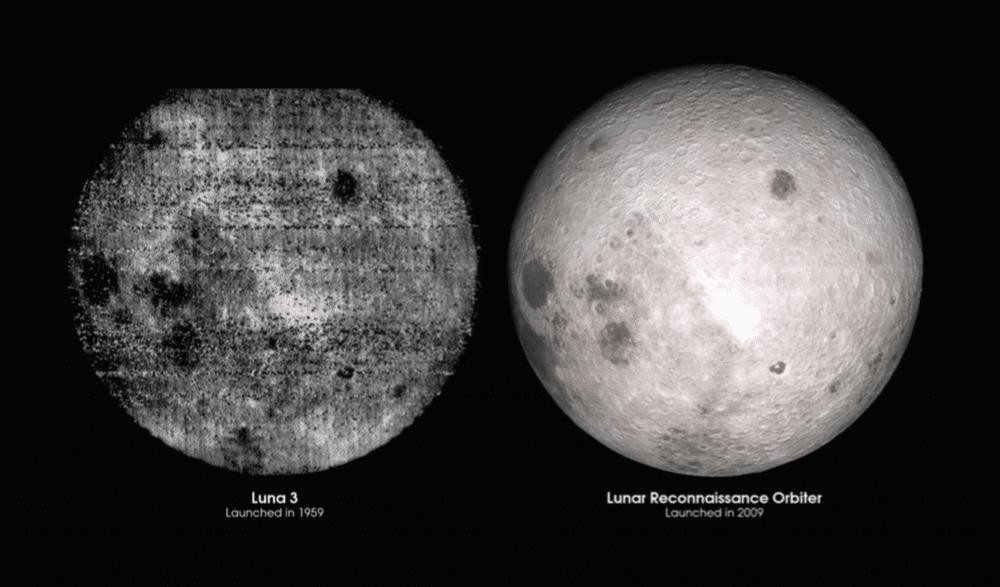 """Fra Anja C. Andersens """"En lille bog om Månen"""". Credit: NASA"""