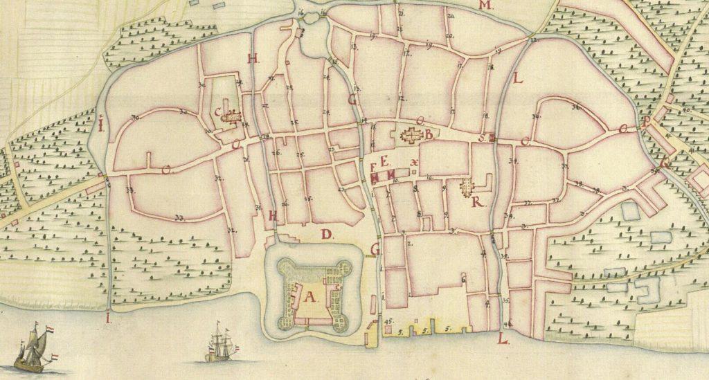 Kortet fra Kortlægningen af Danmark