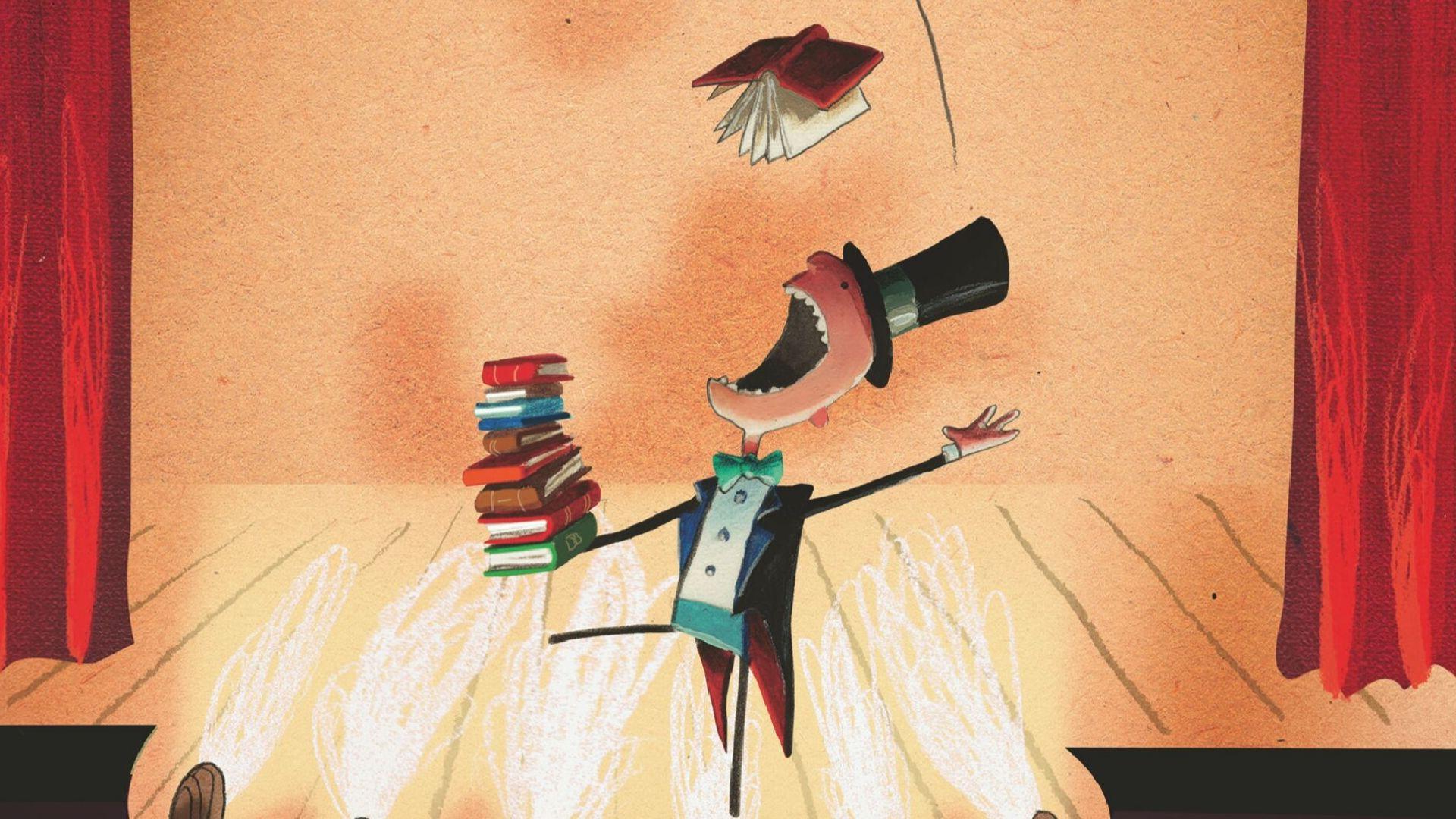 Læselyst, læseglæde, børnebog, børnebøger, Oliver Jeffers, Den fantastiske bogslugende dreng