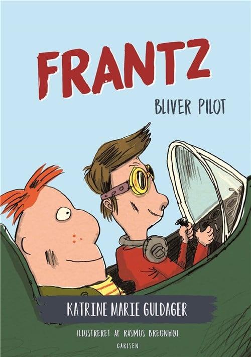 Frantz bliver pilot, frantz-bøgerne