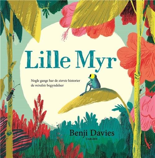 Lille Myr, bøger med dyr