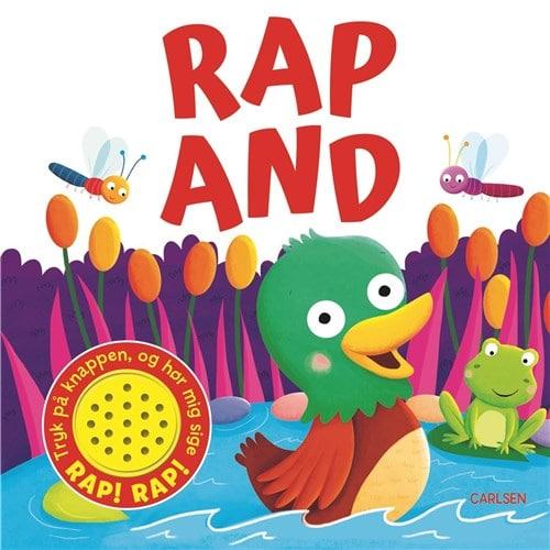 rap and, papbøger med lyd