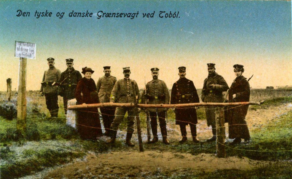 Grænseovergangen ved Tobæl før 1920