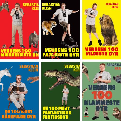 Sebastian Klein, Verdens 100 klammeste dyr