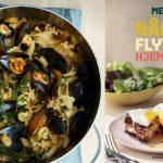 Meyers pasta med blåmuslinger, bacon                      og fennikel