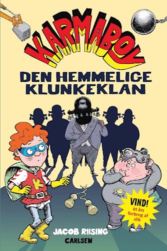 Karmaboy, den hemmelige klunkeklan, læse med børn