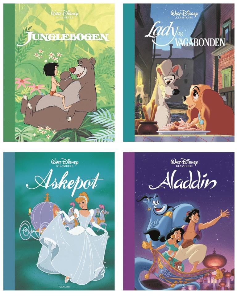 Disney klassikere, læse med børn