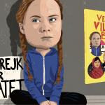 Greta Thunberg taler om klimaet, så voksne lytter. Mød et af verdens vildeste børn