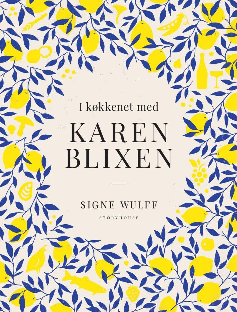 I køkkenet med Karen Blixen forside, Signe Wulff