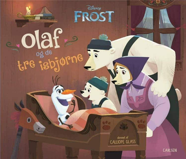 Olaf og de tre isbjørne, Frost, Disney, Olaf,