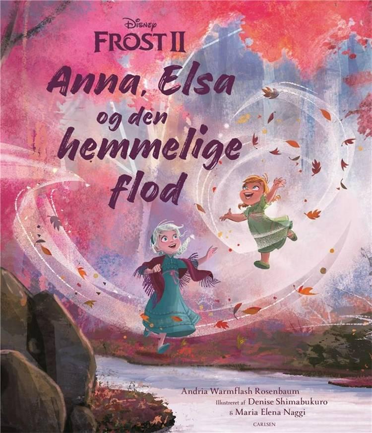 Anna, Elsa, Frost, den hemmelige flod, Disney, bøger til børn