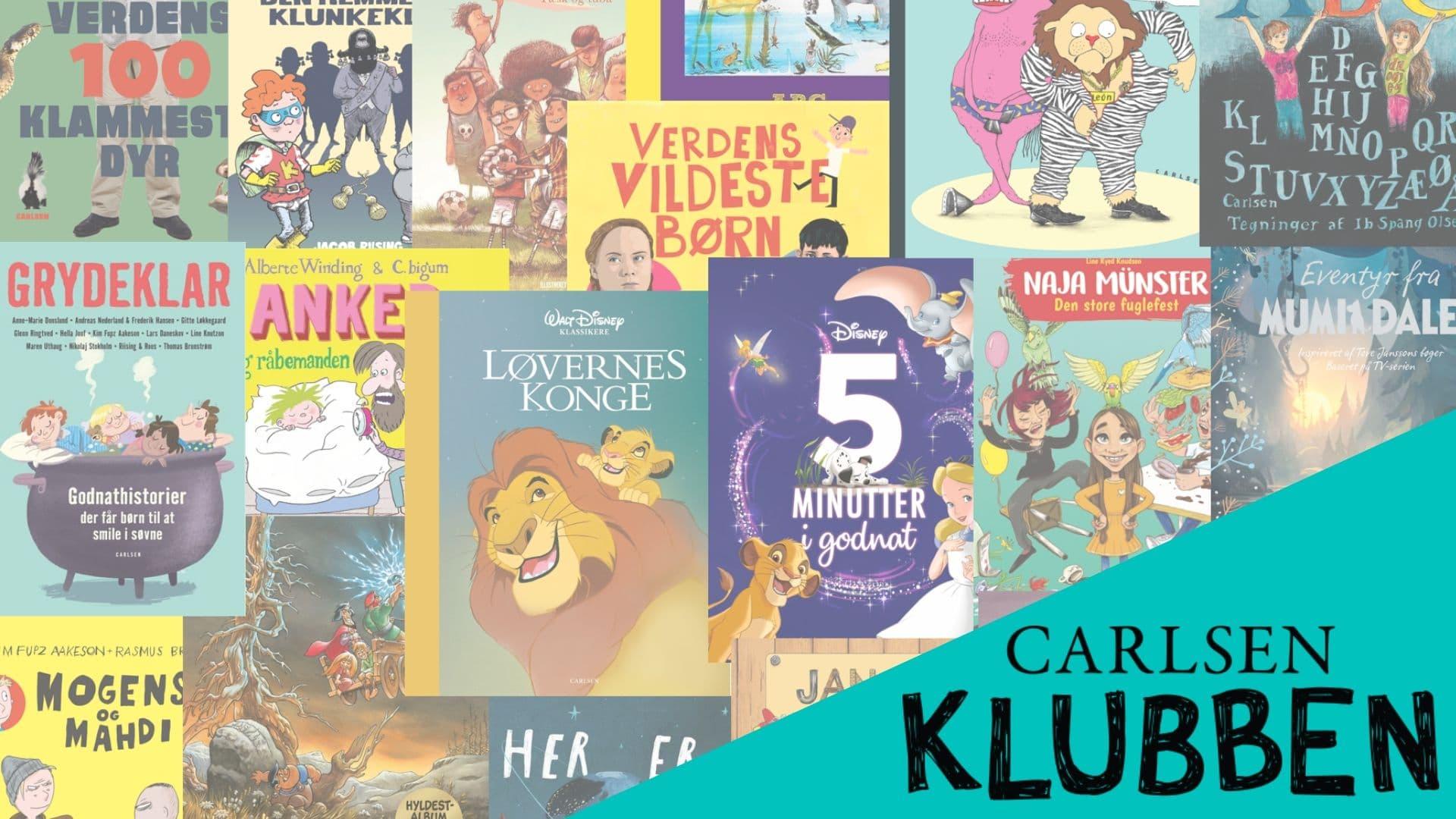 Carlsen Klubben, børnebøger